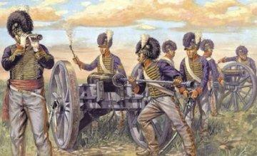 Napoleon.Kriege - Brit. Artillerie · IT 6041 ·  Italeri · 1:72