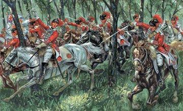 British Light Cavalry - US Indep. War 1776 · IT 6044 ·  Italeri · 1:72