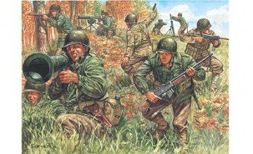 WWII American Infantry · IT 6046 ·  Italeri · 1:72