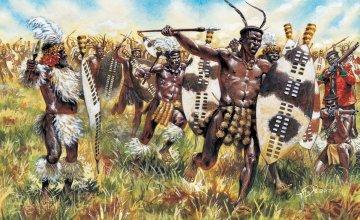 Zulu Wars - ZULU Krieger · IT 6051 ·  Italeri · 1:72