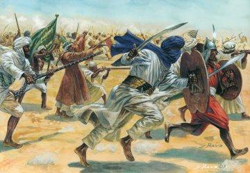 Arab. Warriors · IT 6055 ·  Italeri · 1:72