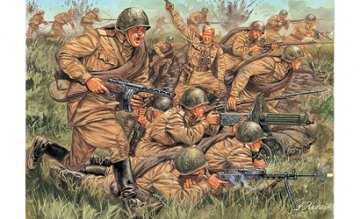 Russian Infantry WWII · IT 6057 ·  Italeri · 1:72