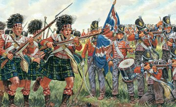 British & Scots Infantry - Napoleonic Wars · IT 6058 ·  Italeri · 1:72