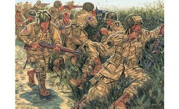 101st Airborne US Paratroopers · IT 6063 ·  Italeri · 1:72