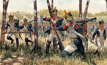 Napoleonic Wars, French Infantry · IT 6066 ·  Italeri · 1:72