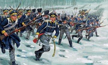 Napoleonic Wars- Prussian Infantry · IT 6067 ·  Italeri · 1:72
