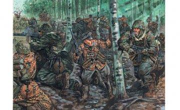 WWII German Elite Troops · IT 6068 ·  Italeri · 1:72