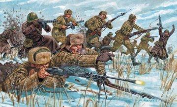 WWII Russian Infanty (Winter Unif.) · IT 6069 ·  Italeri · 1:72