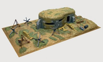 WWII Bunkers and Accessories · IT 6070 ·  Italeri · 1:72