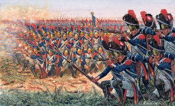 Napoleonic Wars, French Grenad. · IT 6072 ·  Italeri · 1:72