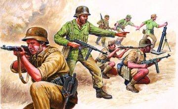 WWII German Africa Corps · IT 6076 ·  Italeri · 1:72