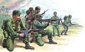 American Special Forces, Vietnam War · IT 6078 ·  Italeri · 1:72