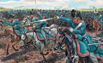 Prussian Light Cavalry, Napoleonic Wars · IT 6081 ·  Italeri · 1:72