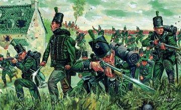 Napoleonic Wars - British 95th Rgt. Green Jackets · IT 6083 ·  Italeri · 1:72