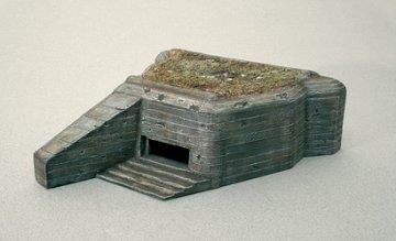 Bunker (Gun Emplacement) · IT 6085 ·  Italeri · 1:72