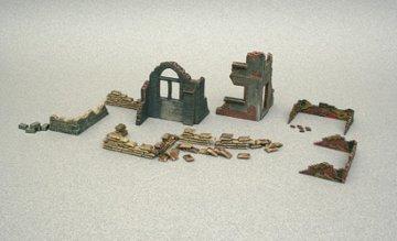Accessories and Ruins · IT 6087 ·  Italeri · 1:72