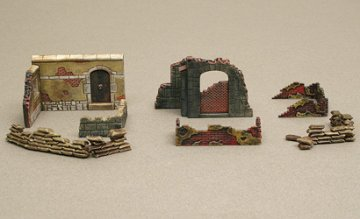 Walls and Ruins II · IT 6090 ·  Italeri · 1:72