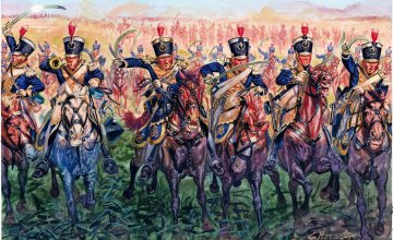 British Light Cavalry 1815 · IT 6094 ·  Italeri · 1:72