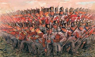 Britische Infanterie 1815 - Napoleonische Kriege · IT 6095 ·  Italeri · 1:72