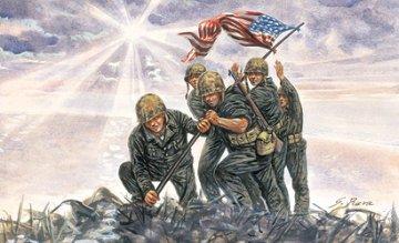 Iwo Jima Flag Raisers · IT 6098 ·  Italeri · 1:72