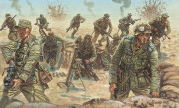 WWII Deutsche Afrika Korps · IT 6099 ·  Italeri · 1:72