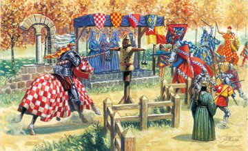 Medieval Challenge XV Century · IT 6109 ·  Italeri · 1:72