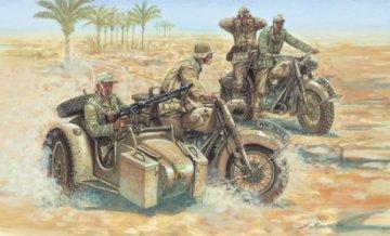 WWII Deutsche Motorräder · IT 6121 ·  Italeri · 1:72