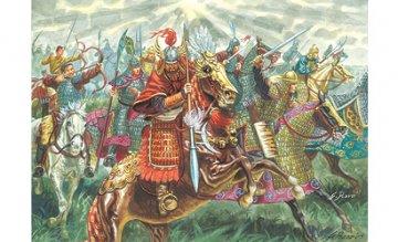 XIIIth Century-Chinese Cavalry · IT 6123 ·  Italeri · 1:72