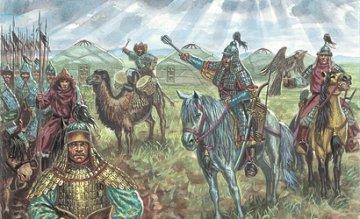 Mongol Cavalry XIII Century · IT 6124 ·  Italeri · 1:72
