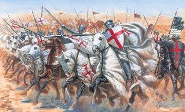 Medieval ERA Templar Knights · IT 6125 ·  Italeri · 1:72
