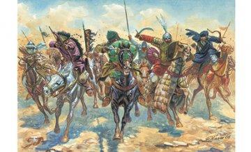 Medieval ERA Arab Warriors · IT 6126 ·  Italeri · 1:72