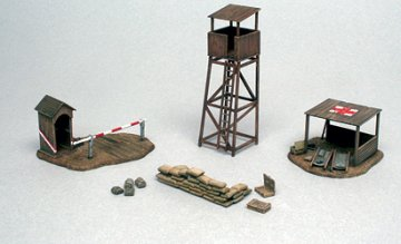 Battlefield Buildings WW II · IT 6130 ·  Italeri · 1:72
