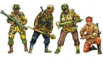 Anti Tank Teams · IT 6131 ·  Italeri · 1:72