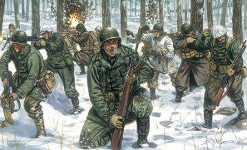 WWII U.S.Infanterie Winteruniform · IT 6133 ·  Italeri · 1:72