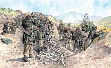 German Paratroopers WW 2nd (Tropical Uniform) · IT 6134 ·  Italeri · 1:72