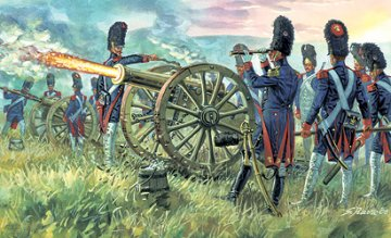 French Imperial Guard Artillery Napoleonic Wars · IT 6135 ·  Italeri · 1:72