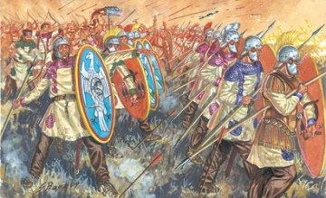 Late Imperial Legion · IT 6137 ·  Italeri · 1:72