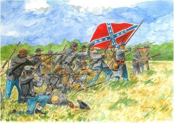 Confederate Inf. (American Civil War) · IT 6178 ·  Italeri · 1:72