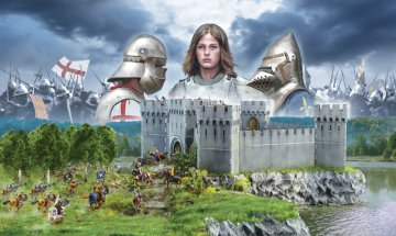 100 Years war - Castle under siege · IT 6185 ·  Italeri · 1:72