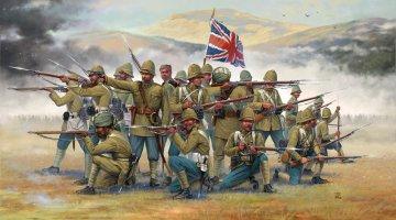 British Infantry and Sepoys · IT 6187 ·  Italeri · 1:72