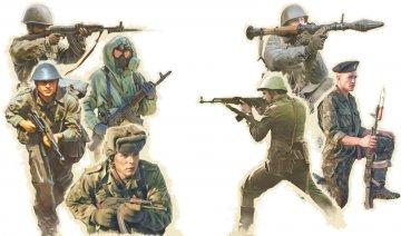 Warschauer Pakt Truppen · IT 6190 ·  Italeri · 1:72