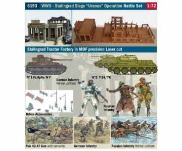 WWII Battle Set - Stalingrad Siege - Uranus Operation · IT 6193 ·  Italeri · 1:72