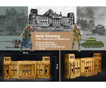 Battle-Set 1945 Fall of the Reichstag · IT 6195 ·  Italeri · 1:72