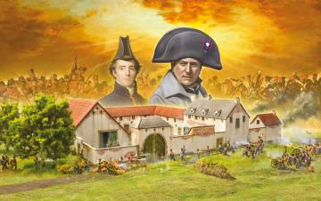 Battle-Set Waterloo La Haye Sainte · IT 6197 ·  Italeri · 1:72
