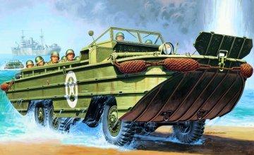 DUKW Amphibious Truck · IT 6392 ·  Italeri · 1:35