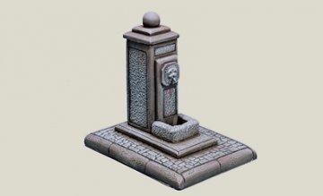 Village Fountain · IT 6410 ·  Italeri · 1:35