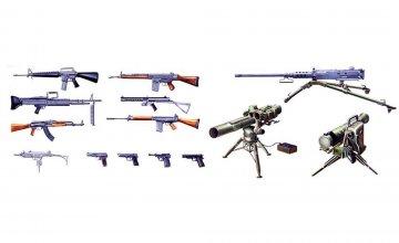 Militär-Set Moderne Waffen · IT 6421 ·  Italeri · 1:35