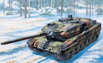 KPz Leopard II A6 · IT 6435 ·  Italeri · 1:35