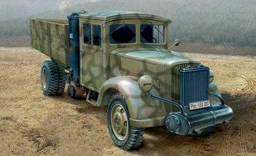 Medium 3 ton. Truck-Coal Engine · IT 6457 ·  Italeri · 1:35