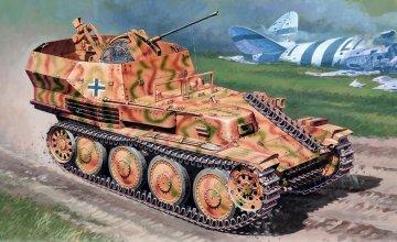Sd.Kfz. 140 `Gepard` Flakpanzer 38 (t) · IT 6461 ·  Italeri · 1:35